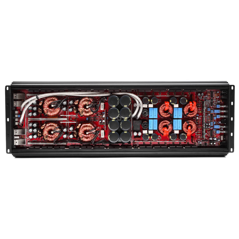 Skar Audio SKv2-4500.1D 4,500 Watt Class D Monoblock Car Amplifier - Gut Shot View