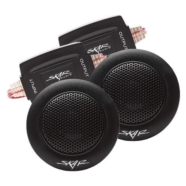 Skar Audio TX-T 1-inch 240 Watt Max Power Component Tweeters - Complete View