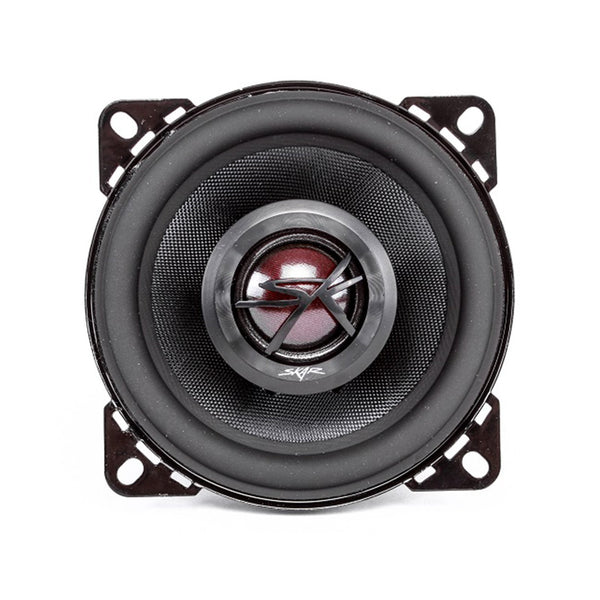Skar Audio TX4 4-inch 120 Watt Max Power Coaxial Car Speakers - Front View