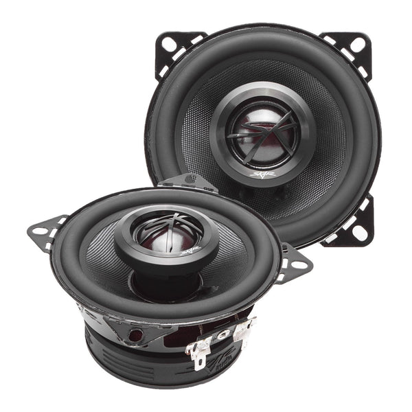 Skar Audio TX4 4-inch 120 Watt Max Power Coaxial Car Speakers - Angle View