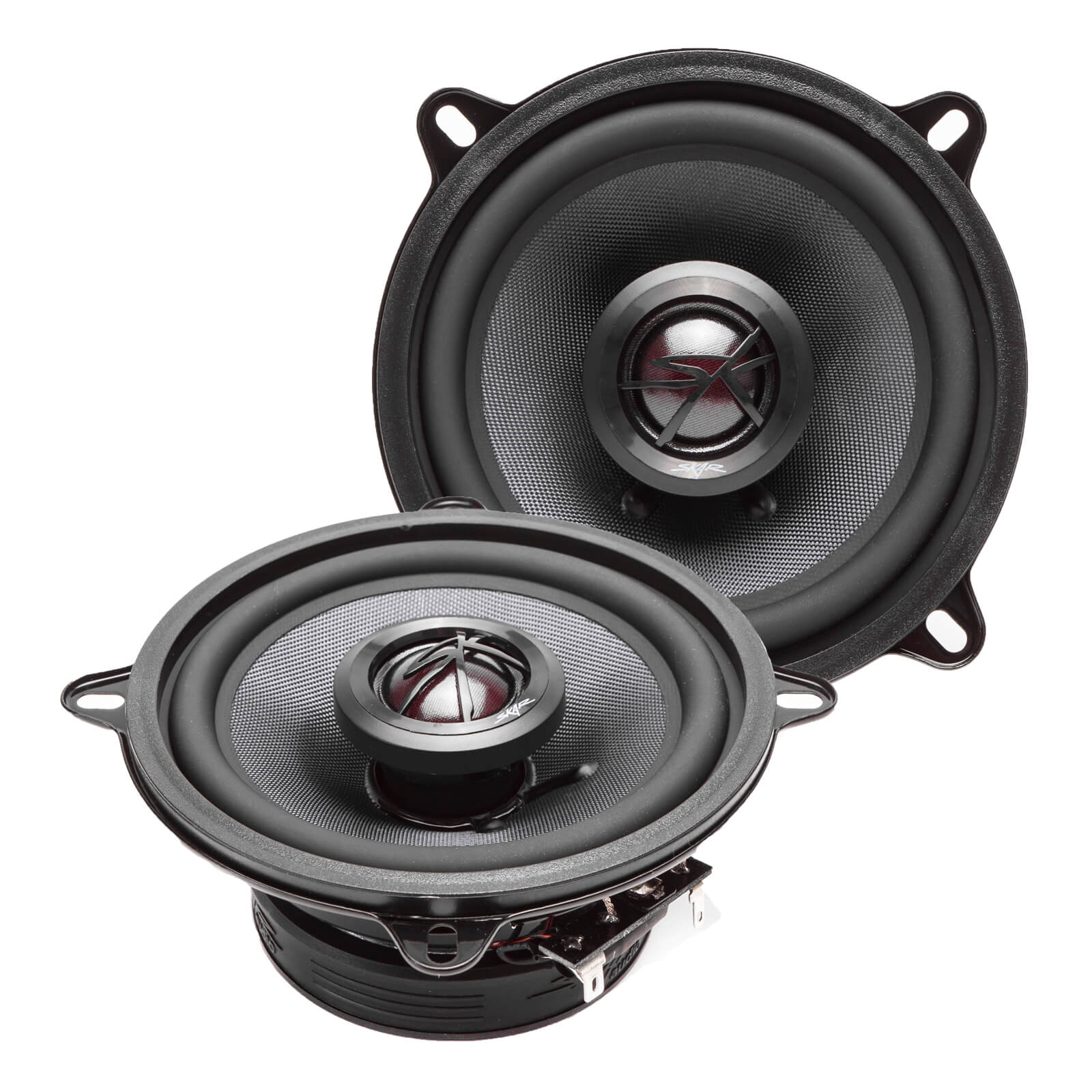 Skar Audio TX525 5.25-inch 160 Watt Max Power Coaxial Car Speakers - Angle View