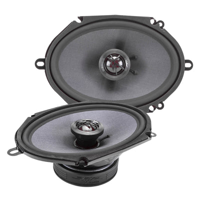 Skar Audio TX68 6-inch x 8-inch 200 Watt Max Power Coaxial Car Speakers - Main View