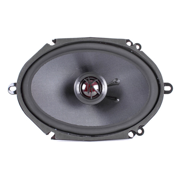 Skar Audio TX68 6-inch x 8-inch 200 Watt Max Power Coaxial Car Speakers - Front View