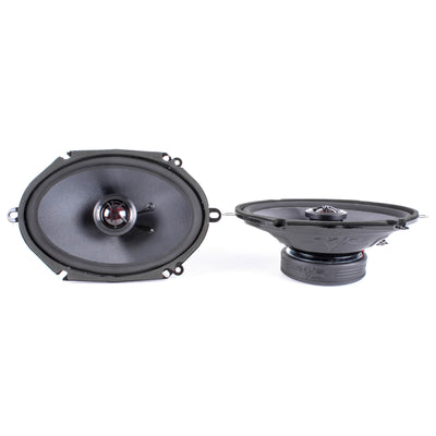 Skar Audio TX68 6-inch x 8-inch 200 Watt Max Power Coaxial Car Speakers - Angle View