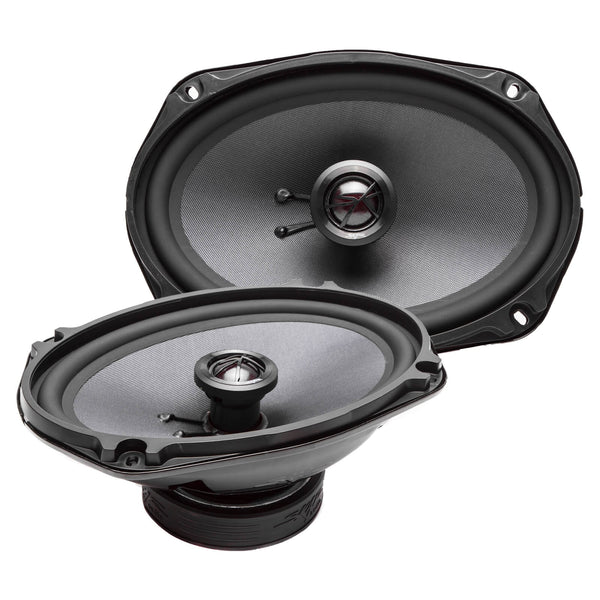 Skar Audio TX69 6-inch x 9-inch 240 Watt Max Power Coaxial Car Speakers - Angle View