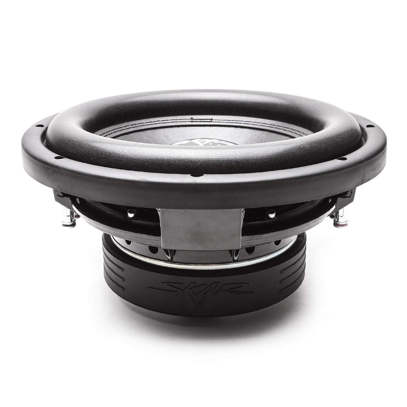 Skar Audio VD-10 10-inch Dual Voice Coil 800 Watt Max Power Shallow Mount Subwoofer - Side View 1