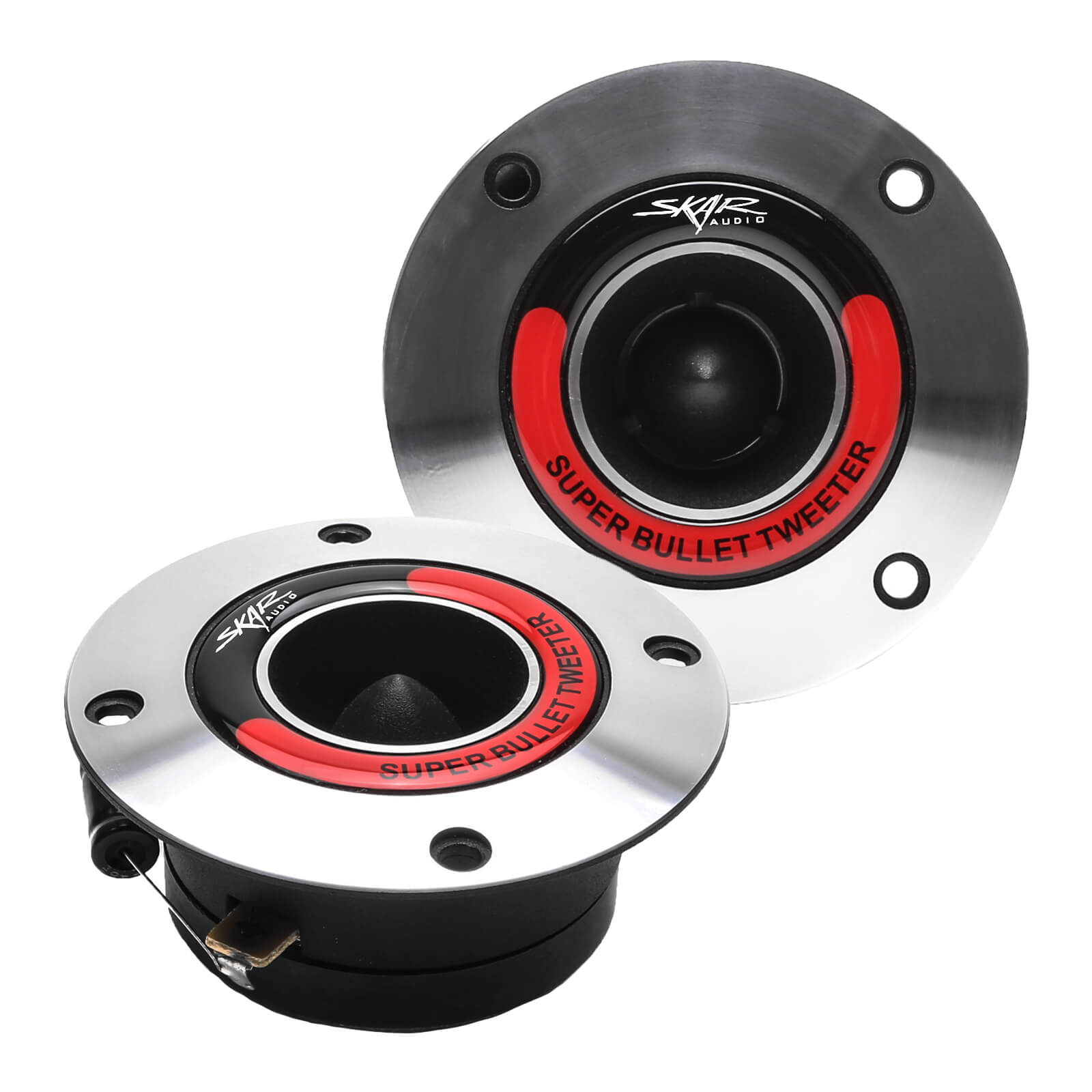 Skar Audio VX175-ST 1.75-inch 400 Watt Max Power Bullet Tweeters - Front Pair View