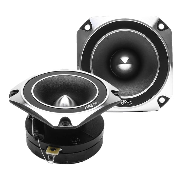 Skar Audio VX35-ST 3.5-inch 500 Watt Max Power Bullet Tweeters - Front Pair View