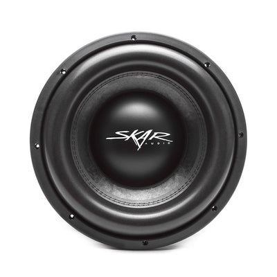 Skar Audio VXF-12 12-inch 3,000 Watt Max Power Car Subwoofer - Front View