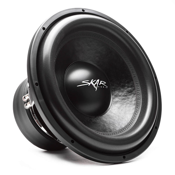 Skar Audio VXF-15 15-inch 3,000 Watt Max Power Car Subwoofer - Angle View
