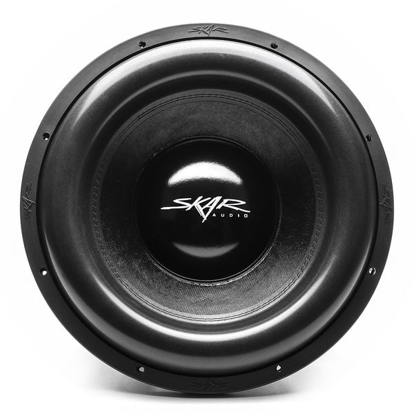 Skar Audio ZVX-15v2 15-inch 3,000 Watt Max Power Car Subwoofer - Front View