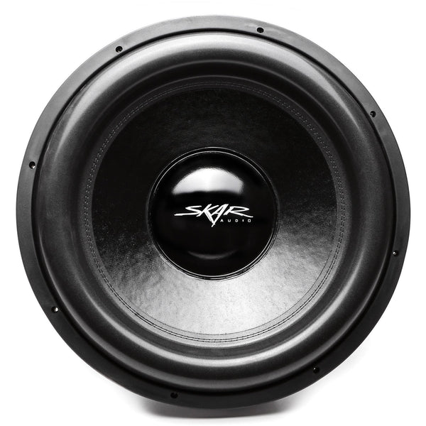 Skar Audio ZVX-18v2 18-inch 3,200 Watt Max Power Car Subwoofer - Front View