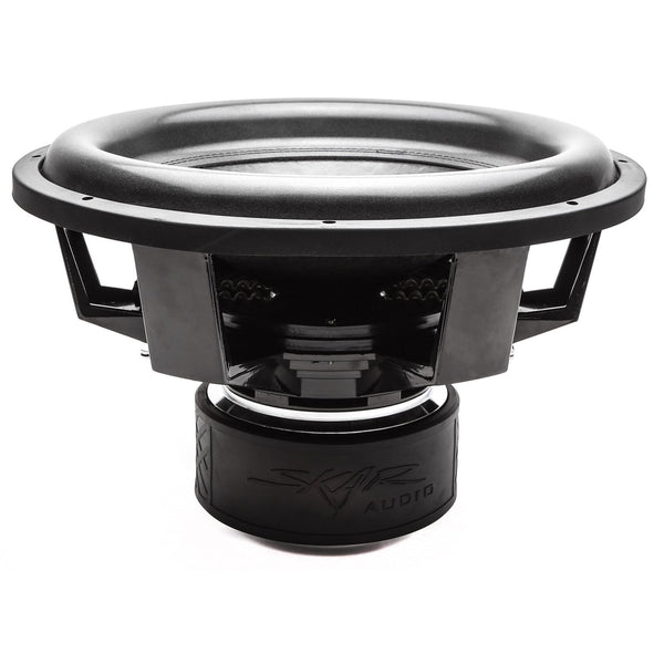 Skar Audio ZVX-18v2 18-inch 3,200 Watt Max Power Car Subwoofer - Side Angle View