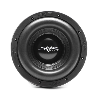 Skar Audio ZVX-8 8-inch 1,100 Watt Max Power Car Subwoofer - Front View