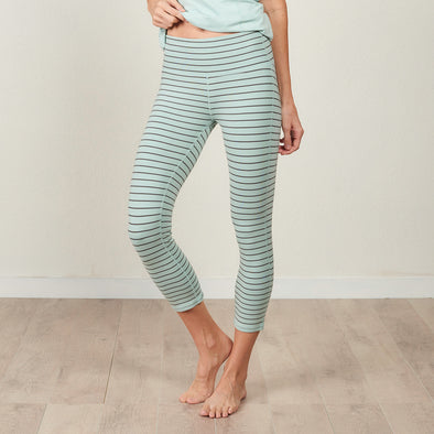 Bamboo Cotton Loungewear Capri Legging