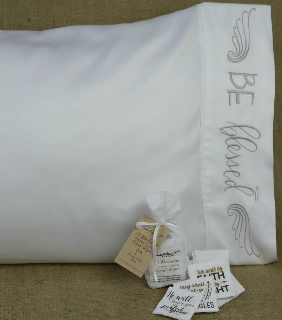 Be Blessed Satin Bamboo Pillowcase