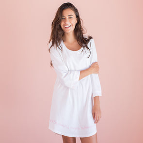 Always Kiss Me Goodnight- Cozy Collection Belle Sleeve Nightgown