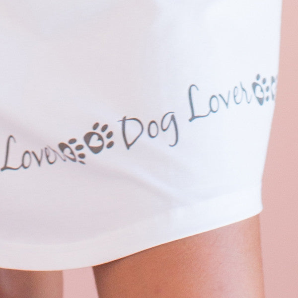 Dog Lover - Cozy Collection Sleeveless Nightgown