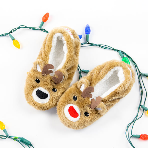 Oh, Deer Reindeer Footsies
