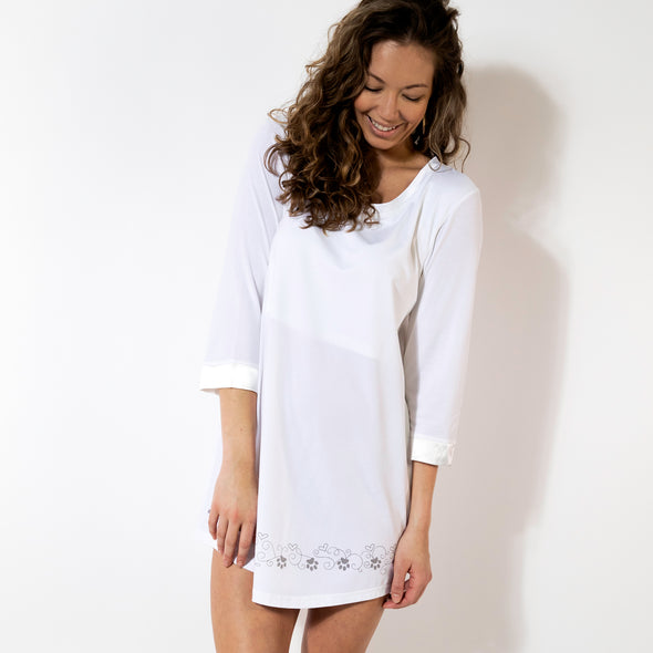 For the Love of Paws - Cozy Collection 3 Qtr Sleeve Nightgown