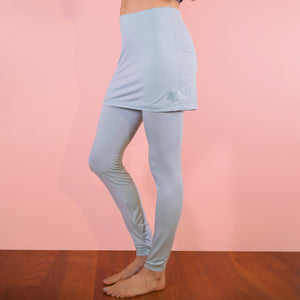 NEW Faceplant Bamboo® Skort Leggings - Aqua