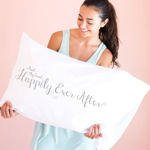 NEW Happily Ever After - Pillowcase