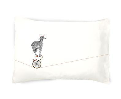 Whatever Floats Your Goat Pillowcase