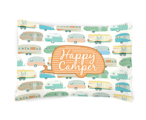 Happy Camper Pillowcase