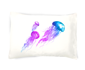 So Totally Jellyfish Pillowcase