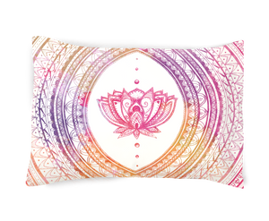 Good Vibes- Lotus Pillowcase