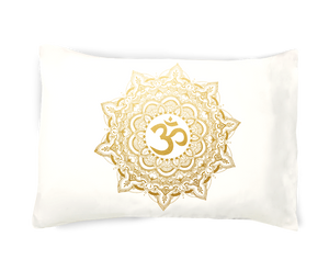 Golden Om Pillowcase
