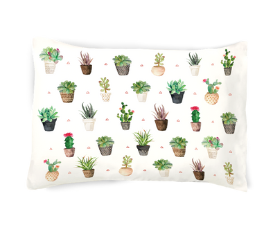 Succulents- SUCCA For You Pillowcase