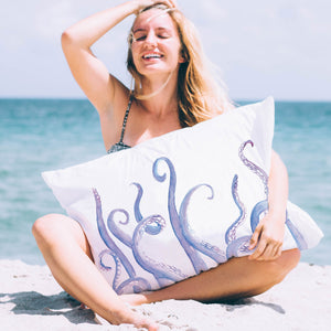 Octopus Raise The Roof Pillowcase