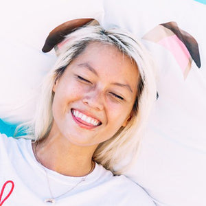 Do-It-Yourselfie Puppy Ears Pillowcase