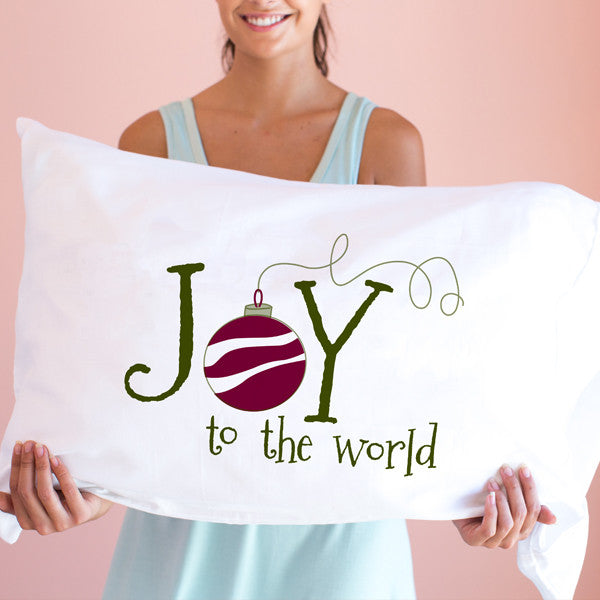 Joy To The World ~ Pillowcase