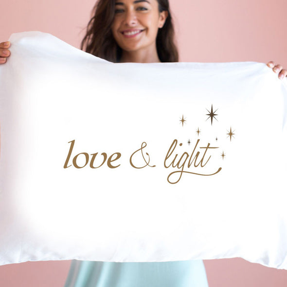 Love and Light Pillowcase
