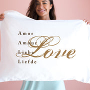 Love (in 5 languages) - Pillowcase