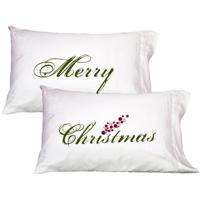 Merry Christmas ~ Pillowcase Set