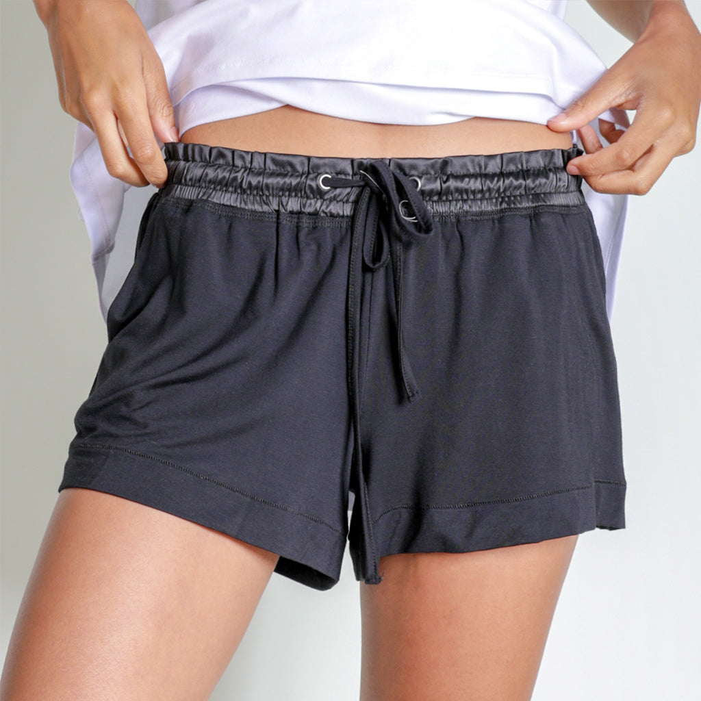 New Faceplant Bamboo® Short Shorts- Black