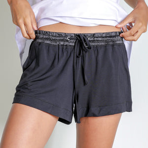 Faceplant Bamboo® Short Shorts- Black