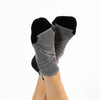 Faceplant Bamboo® Ankle Socks - Earl Grey/Black