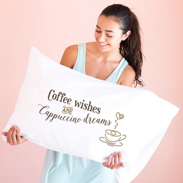 Coffee Wishes - Pillowcase