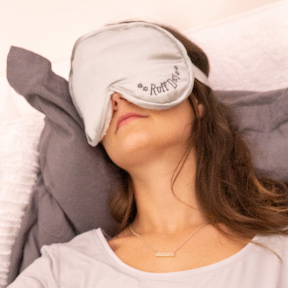 Ruff Day - Lavender & Flax Hot/Cold Eye Mask