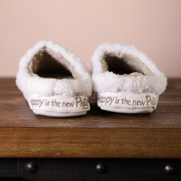 Happy Is The New Pretty - Original Classic Slippers