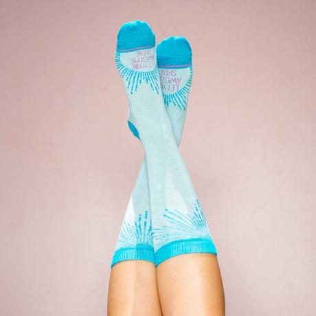 Bamboo Socks: Let Your Awesome Shine