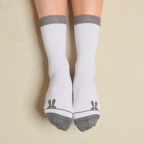 Faceplant Bamboo® Crew Socks - Some Bunny Loves You