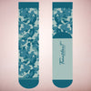 Faceplant Bamboo®Socks: Camouflage Blue
