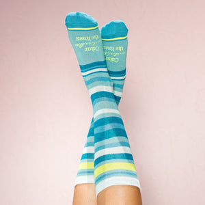 Faceplant Bamboo®Socks: Color Outside the Lines
