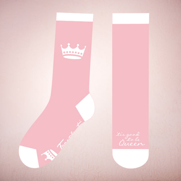 Faceplant Bamboo®Socks: Good to be Queen