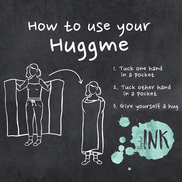 Follow Your Dreams Huggme Blanket